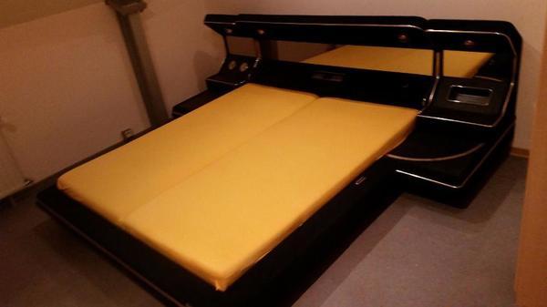 Ruf airomatic luxus designer bett 70er 80er jahre style for Bett 70er jahre