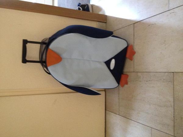 samsonite koffer kindertrolley pinguin in weinheim. Black Bedroom Furniture Sets. Home Design Ideas
