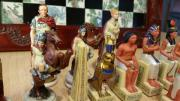 Schachspiel Römer vs.
