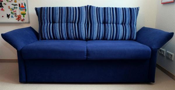 Schlafsofa blau sofa in kornwestheim polster sessel for Schlafsofa blau