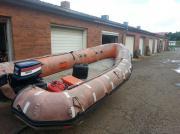 Schlauchboot zu verkaufen