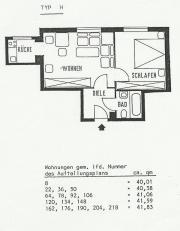schöne 2-Zimmerwohnung