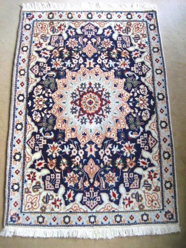 Wunderschöner hochwertiger Nain Teppich  Perser Teppich