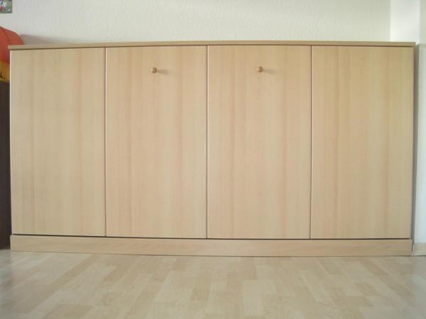schrankbett klappbett 90x200 in n rtingen betten kaufen und verkaufen ber private kleinanzeigen. Black Bedroom Furniture Sets. Home Design Ideas