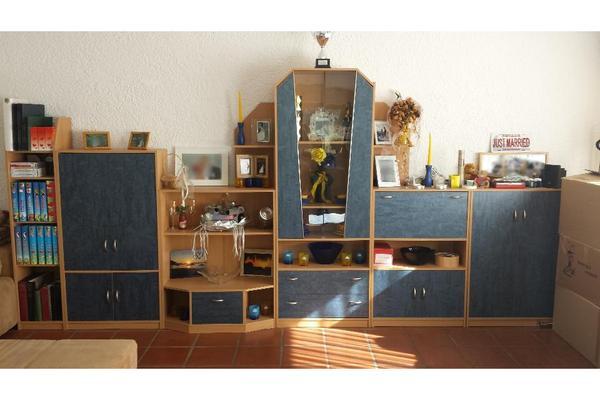 schrankwand anbauwand wohnwand mediacenter. Black Bedroom Furniture Sets. Home Design Ideas