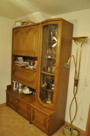 vitrine eiche rustikal haushalt m bel gebraucht und neu kaufen. Black Bedroom Furniture Sets. Home Design Ideas