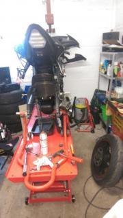 Schraubergarage Motorrad