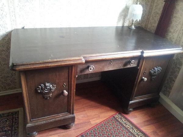 Schreibtisch antik jugendstil in f rth sonstige m bel for Schreibtisch jugendstil