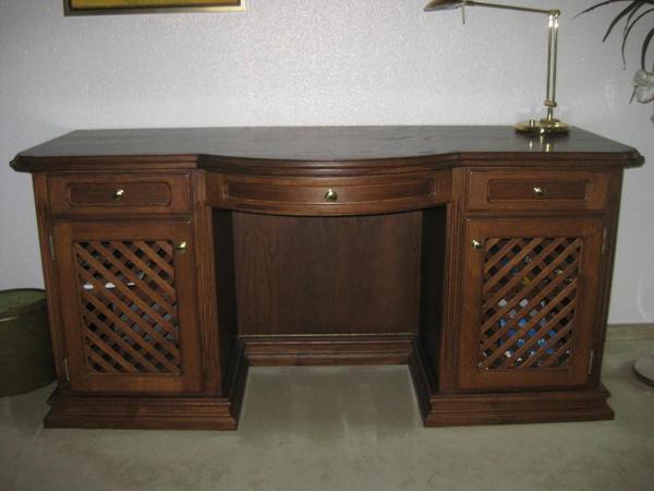 eiche schreibtisch neu und gebraucht kaufen bei. Black Bedroom Furniture Sets. Home Design Ideas