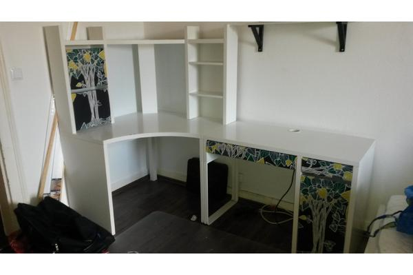 Ikea Malm Bett Frühstückstisch ~ ikea micke schreibtisch ich biete den ikea schreibtisch micke in