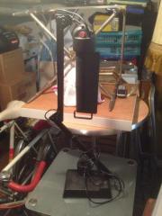 Schreibtischlampe mit kleiner