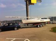 Segelboot First Class