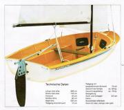 Segelboot Jolle Kolibri