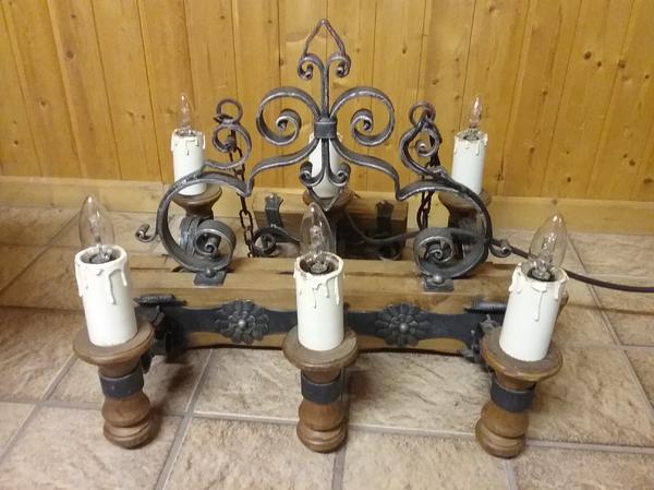rustikale lampe kaufen gebraucht und g nstig. Black Bedroom Furniture Sets. Home Design Ideas