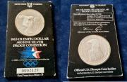 Silbermünze Olympic Silverdollar