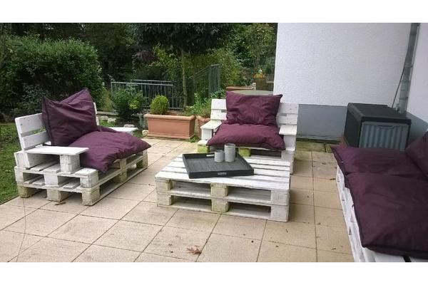 Sitzgruppe aus Paletten in Bad Vilbel - Gartenmöbel kaufen ...