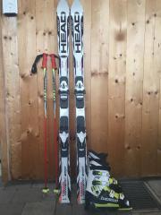 Ski, Skischuhe und