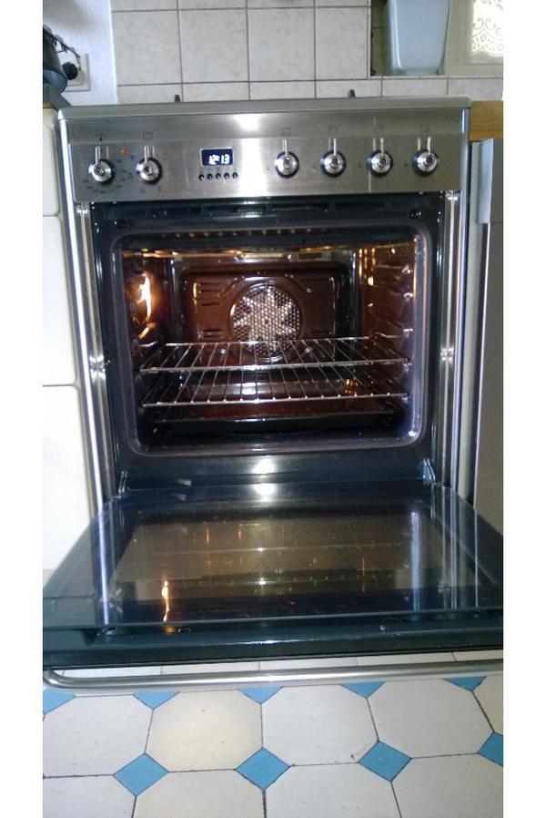smeg gas elektroherd in stuttgart k chenherde grill mikrowelle kaufen und verkaufen ber. Black Bedroom Furniture Sets. Home Design Ideas