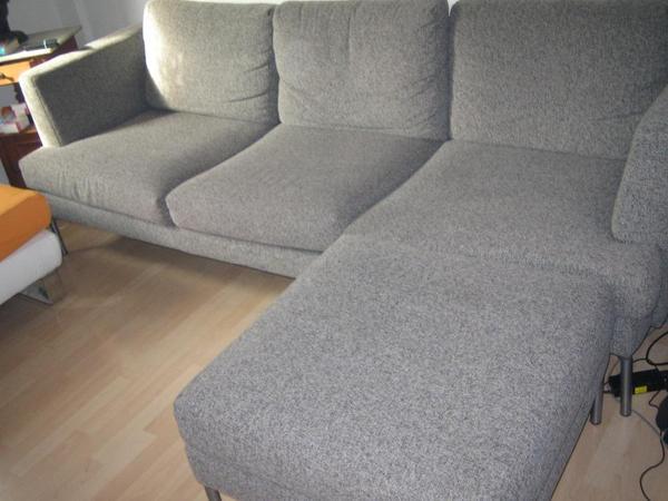 grau sofa neu und gebraucht kaufen bei. Black Bedroom Furniture Sets. Home Design Ideas