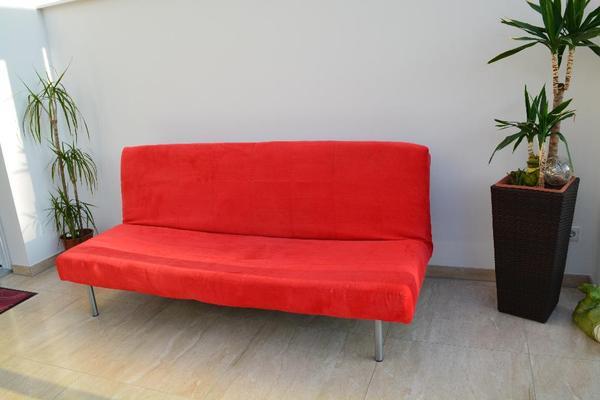 couch sofa rot kaufen gebraucht und g nstig. Black Bedroom Furniture Sets. Home Design Ideas