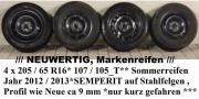 Sommereifen 4x 205 /