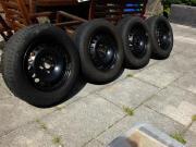 Stahlfelgen mit Reifen (