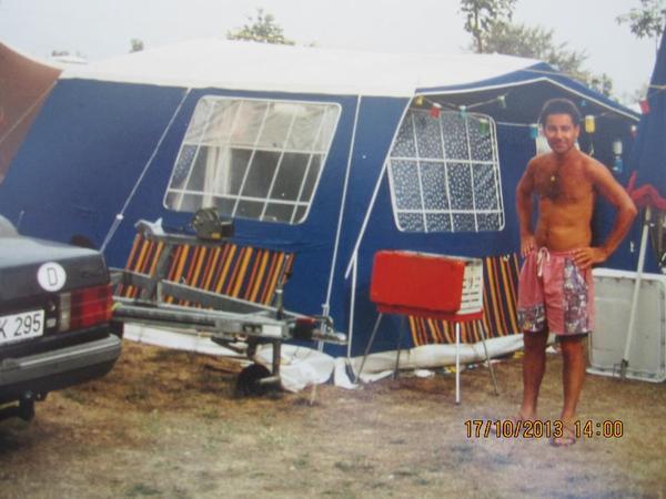 steilwandzelt in frankfurt campingartikel kaufen und verkaufen ber private kleinanzeigen. Black Bedroom Furniture Sets. Home Design Ideas