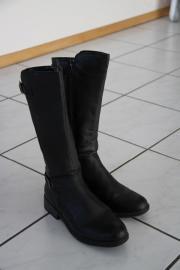 Stiefel schwarz Gr.