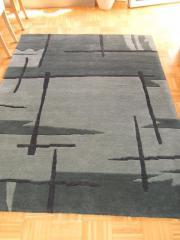 Teppich mit Brücke
