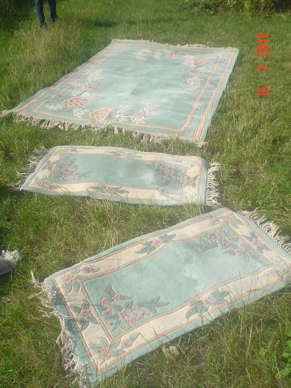 Teppich oder Teppiche China handgeknüpft grün in