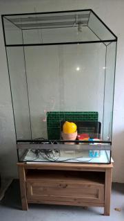 Terrarium mit Technik