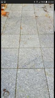 Terrassenplatte Granitplatte 40x40x3cm