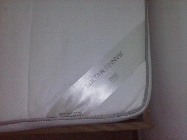 Matratze sultan neu und gebraucht kaufen bei for Ikea sultan finnvik