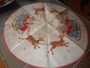 Tischdecke rund Weihnachtsmotiv