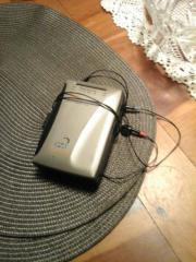 Tragbares Kassetten-Radio