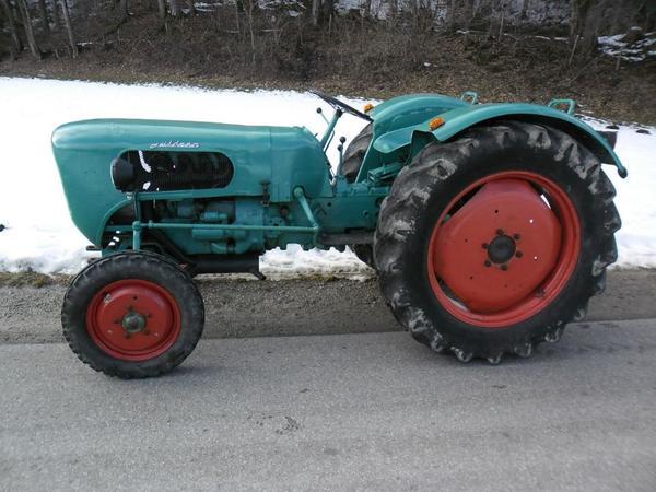 traktor g ldner burgund 3 zylinder oldtimer bj 1962. Black Bedroom Furniture Sets. Home Design Ideas