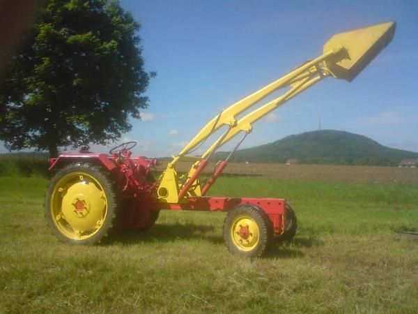 traktor rs09 ger tetr ger ifa ddr hydraulik hubarm holz. Black Bedroom Furniture Sets. Home Design Ideas