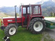 Traktortüre und Außenspiegel