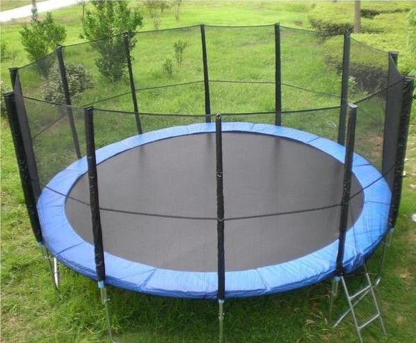 trampolin xxl 4 80 m 16ft gartentrampolin netz in berching sonstiges f r den garten. Black Bedroom Furniture Sets. Home Design Ideas