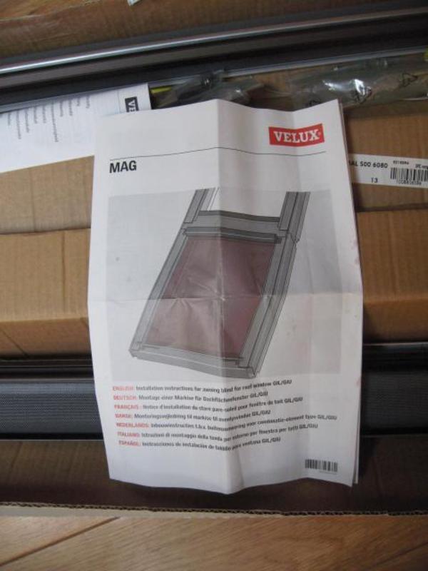 velux hitzeschutz markise originalverpackt in oberwiesen alles m gliche kaufen und verkaufen. Black Bedroom Furniture Sets. Home Design Ideas