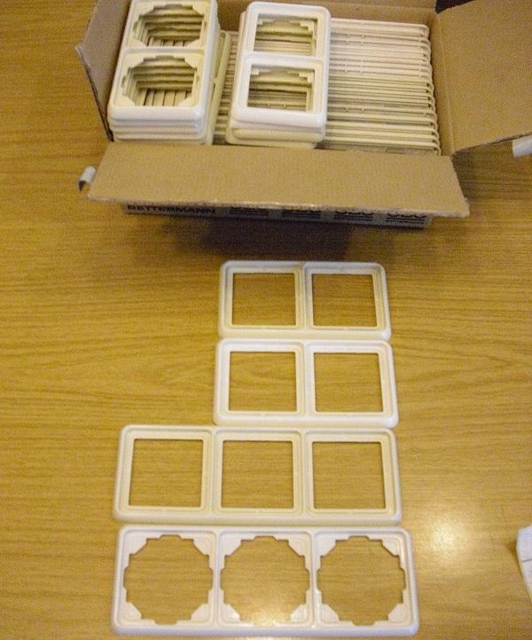 schalter steckdosen kaufen gebraucht und g nstig. Black Bedroom Furniture Sets. Home Design Ideas