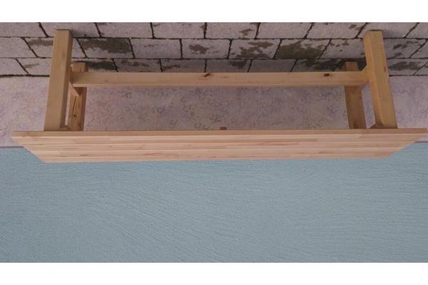 unbehandeltes holz neu und gebraucht kaufen bei. Black Bedroom Furniture Sets. Home Design Ideas