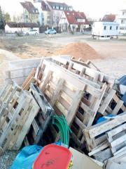 Verschenke Holzpaletten (Roth