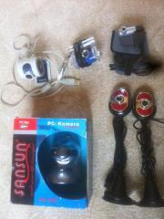 Verschiedene Webcam Web