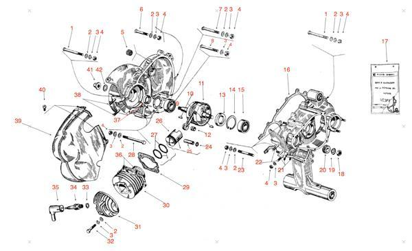 Vespa Motor Reparatur Revision In Ulm Motorrad
