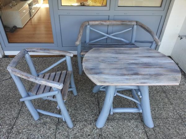 Schön Vintage Gartenmöbel Kleines Sofa Und Sessel