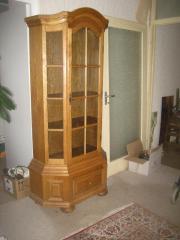 vitrine eiche in darmstadt haushalt m bel gebraucht. Black Bedroom Furniture Sets. Home Design Ideas