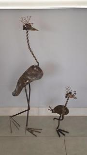 Vogel Eisen/Metall