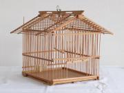 Vogelkäfig aus Holz