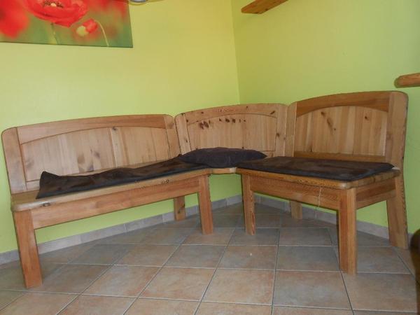 vollholz eckbank kiefer gelaugt ge lt in erlangen speisezimmer essecken kaufen und verkaufen. Black Bedroom Furniture Sets. Home Design Ideas
